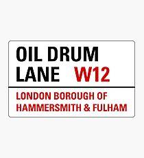Oil Drum Lane - Steptoe & Son Photographic Print