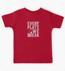 everyplatewebreak - logo Kids Tee