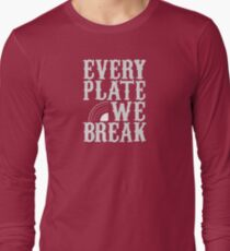 everyplatewebreak - logo Long Sleeve T-Shirt