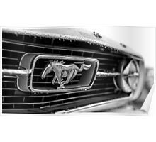 1966 Ford Mustang K-Code Poster
