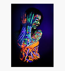 Black Light Photographic Print