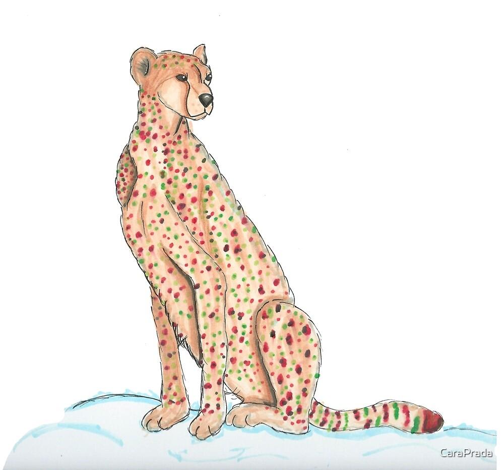 Day 4: Cheetah by CaraPrada