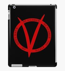 Remember, Remember the 5th of November iPad Case/Skin