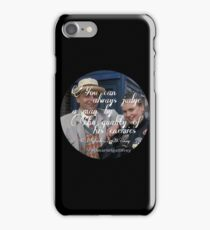 Sylvestor McCoy iPhone Case/Skin