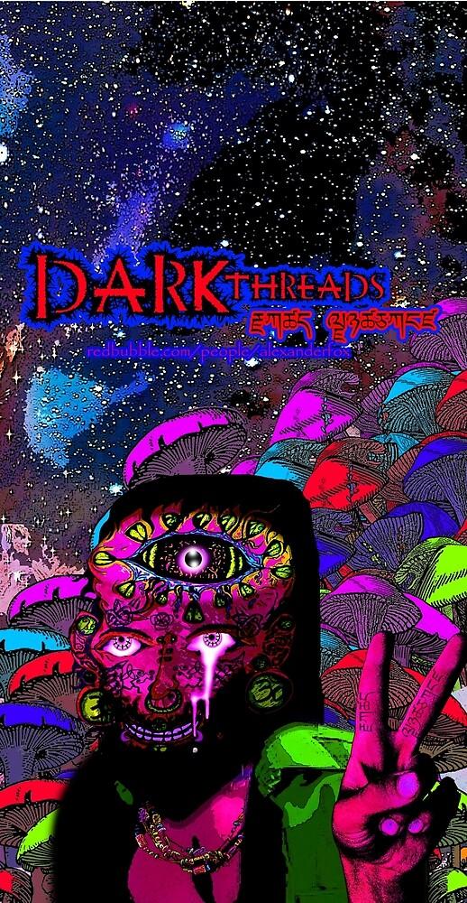 Psychedelic Jesus Reincarnate by Dark Threads