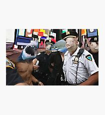 cops and robbers  Photographic Print