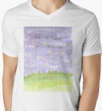 I'll Be Dancing in Starlight Men's V-Neck T-Shirt