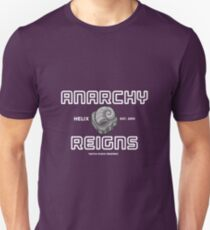 Twitch Plays Pokemon: Anarchy Reigns - Blue on White Text T-Shirt