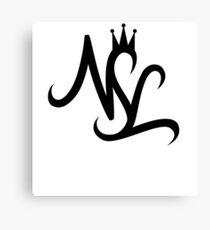 NSL White Crown Canvas Print