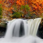 Autumn Cataract by Kenneth Keifer
