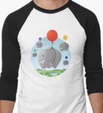 Family Migration Men's Baseball ¾ T-Shirt