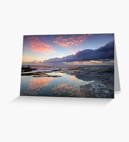 Speckled Dawn Greeting Card