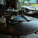 Coffee and Paper  by Alfredo Estrella