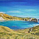 Lulworth Cove by Annie Lovelass