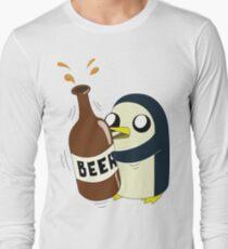 Gunter Loves Beer Long Sleeve T-Shirt