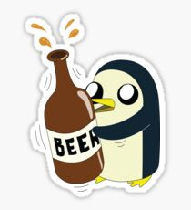 Gunter Loves Beer Sticker
