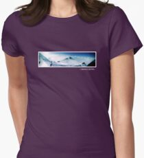Saalbach Austria Design 2 Womens Fitted T-Shirt