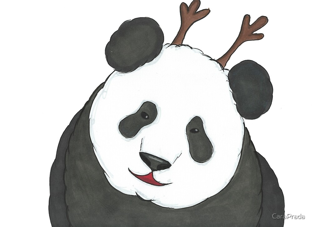 Day 8: Panda by CaraPrada