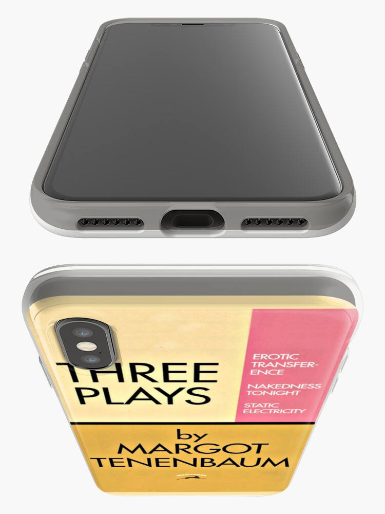 Alternate view of Three Plays by Margot Tenenbaum iPhone Case & Cover