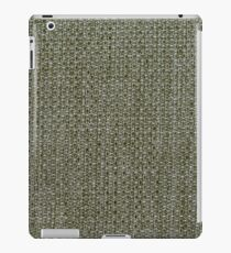 Green fabric texture iPad Case/Skin
