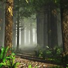 Pine Forest by Leoni Mullett