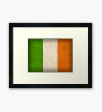 Ireland Flag Framed Print
