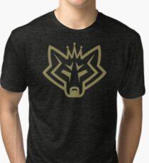 NSL Crown Gold Wolf Tri-blend T-Shirt