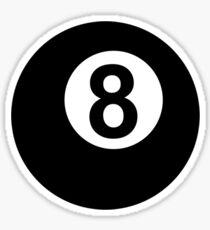 Billiards eight 8 ball Sticker
