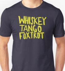 Whiskey Tango Foxtrot - Color Edition Unisex T-Shirt