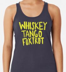 Whiskey Tango Foxtrot - Color Edition Women's Tank Top