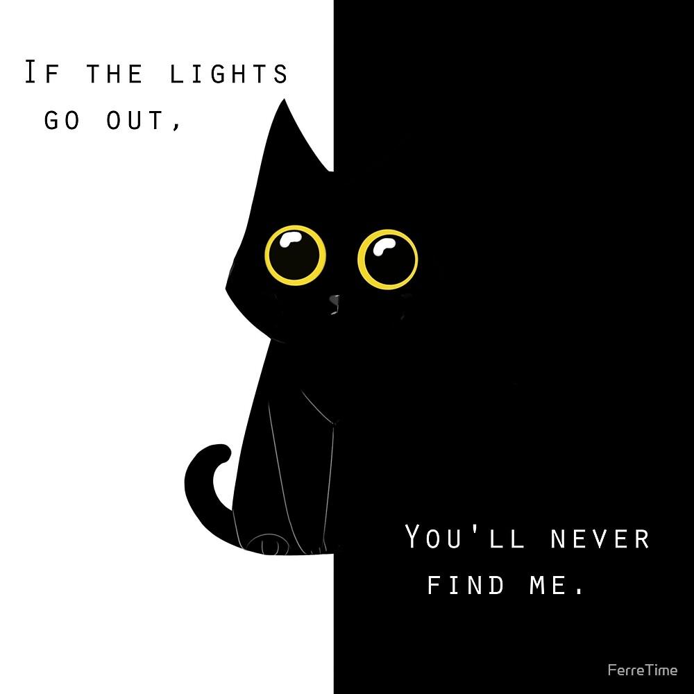 Darkness Kitty  by FerreTime