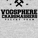 Property of Vogsphere Crabsmashers Poetry Team by M Dean Jones