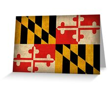 Maryland State Flag Greeting Card