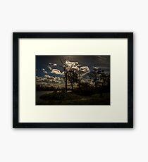 WOW Sky Framed Print