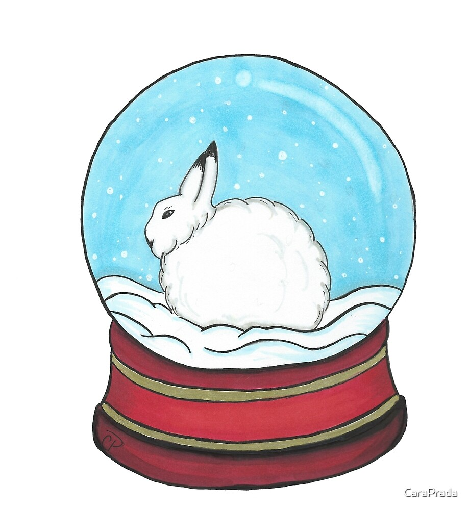Day 11: Arctic Hare by CaraPrada
