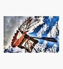 Harnessing the Wind Photographic Print