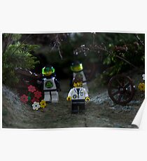 Mr Lego men  Poster