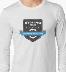 Cycling 365 Days a Year Long Sleeve T-Shirt