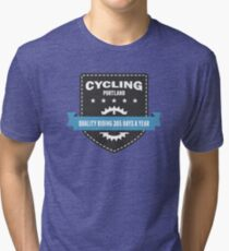 Cycling 365 Days a Year Tri-blend T-Shirt