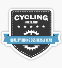 Cycling 365 Days a Year Sticker