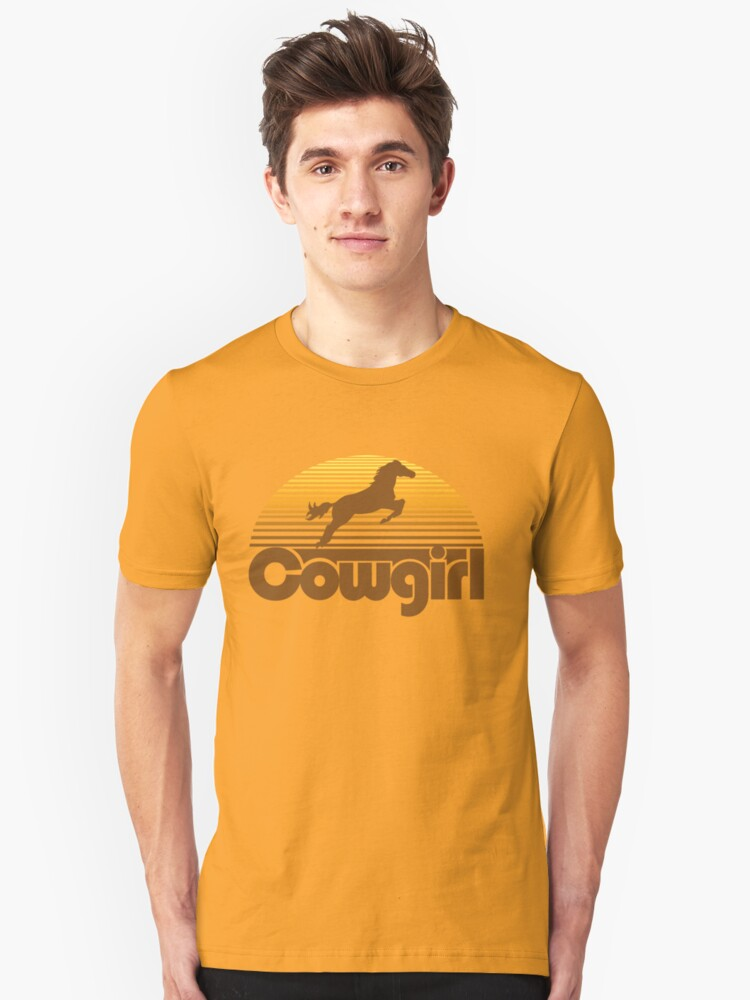Cowgirl Unisex T-Shirt Front