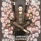 Wil Anderson: Wiluminati 'Faces' by James Fosdike