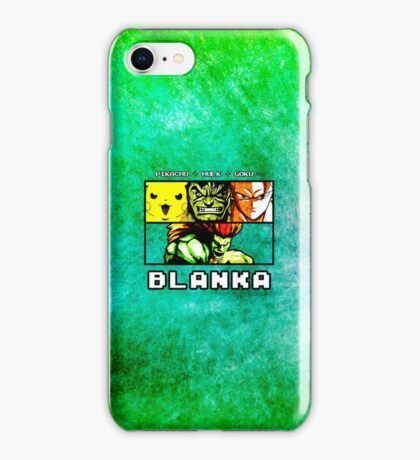 Blanka Fusion iPhone Case/Skin