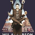 Wil Anderson: Wiluminati 'Triangle' by James Fosdike