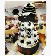 The Dead Dalek Display  Poster