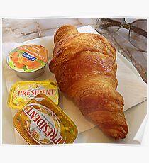 A Croissant For Ellanita Poster