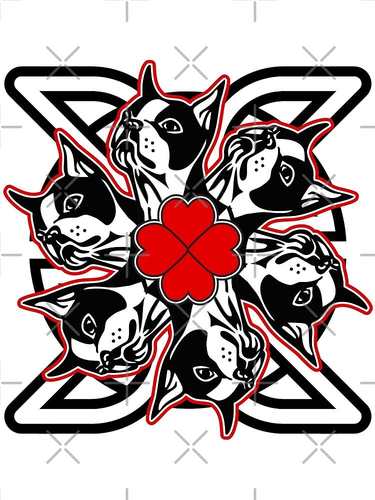 boston celtic hearts by sidmonkey2k