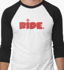 Ride. Men's Baseball ¾ T-Shirt