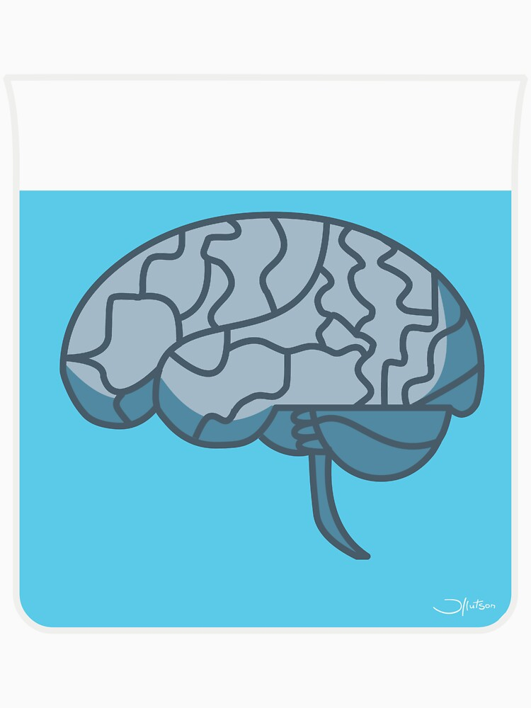 Brain in a jar (blue) by bridge8