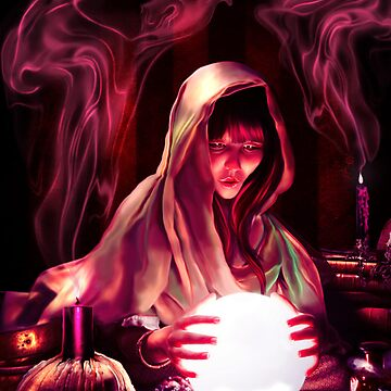 The Fortune Tellers Daughter by indigocrow
